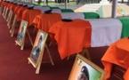 Côte d'Ivoire: cérémonie d'hommage aux militaires tués lors de l'attaque de Kafolo