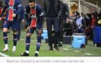 PSG : Neymar touché à un mollet