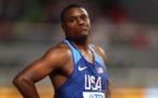 Le Champion du monde des 100 mètres Christian Coleman suspendu deux ans