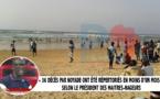 """Sénégal: """"36 cas de décès par noyage ont été répertoriés en moins d'un mois"""", révèle le président des maitres-nageurs"""