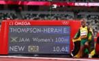 JO-2020 - Athlétisme: deuxième titre et deuxième chrono de l'histoire sur 100 m pour la Jamaïcaine Elaine Thompson-Herah