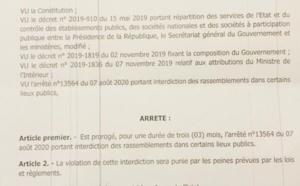 Interdiction des rassemblements dans les lieux publics, Port de masque : Aly Ngouille Ndiaye proroge l'arrêté pour 3 mois