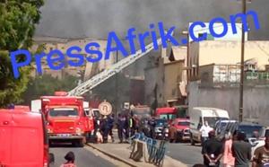 Incendie au Môle 10 : les journalistes interdits de se rapprocher du Port autonome de Dakar
