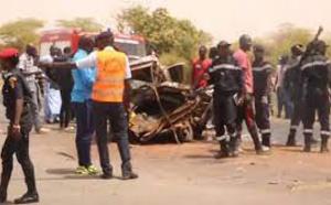 Louga : mort d'un médecin dans un accident sur la N2