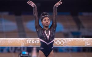"""Gymnastique: Biles explique son retrait du concours par équipes par """"des démons dans (sa) tête"""""""