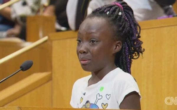 L'appel poignant d'une fillette noire à la police américaine