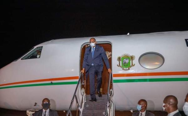 Après un séjour médical à Paris, Patrick Achi est rentré en Côte d'Ivoire