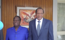 Abidjan: aucune déclaration après une rencontre entre Bédié et Compaoré