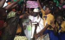 Gambie: derniers meetings avant l'élection présidentielle