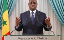 Discours du Président de la République: l'intégralité du message du chef de l'Etat à la Nation