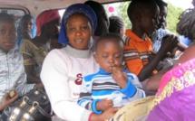 Près de 45 000 personnes ont fui l'incertitude politique en Gambie, (UNHCR)