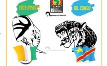 CAN 2017 - Poule C: Côte d'Ivoire / RD Congo: 2-2, score final