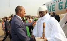 Urgent: Guinée Conakry, le point de chute de Yaya Jammeh