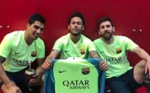 Barça : la MSN reproduit le geste de célébrartion de Lionel Messi face au Real de Madrid