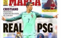 Ronaldo aurait reçu une offre du PSG