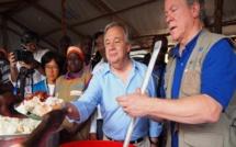 ONU: Antonio Guterres à la rencontre des réfugiés sud-soudanais en Ouganda