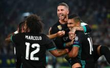 Le Real remporte sa 4e Supercoupe d'Europe après sa victoire sur Manchster United (2-1)