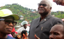 Sierra Leone: le président Koroma en appelle à l'aide internationale