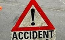Accident  de la circulation : Une collision entre un véhicule et une motocyclette fait un mort