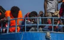 Un bateau avec 68 migrants intercepté en mer noire