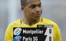 7e journée Ligue 1 : Paris marque le pas à Montpellier (0-0)