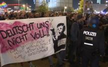 """""""Nazis dehors"""". Des centaines d'Allemands manifestent à Berlin après la percée de l'extrême droite"""