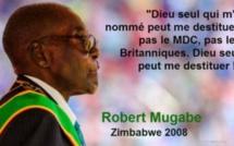 Mugabe en 10 formules cinglantes