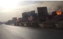 Incendie – Parc Lambaye : Macky veut un rapport exhaustif dans les meilleurs délais