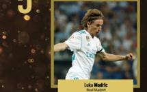 Ballon d'or France football 2017 : La 5e place est pour Modric