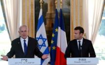 Netanyahou traite Macron d'hypocrite avant sa venue ce dimanche à l'Elysée