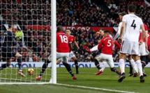 20e journée Premier League : Manchester United évite le pire grâce à Lindgard, Chelsea revient à un point