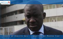 """Vidéo - Moussa Tine à sa sortie de l'audience : """"Nous sommes dans une sorte de jeu d'échec où le but c'est de..."""""""