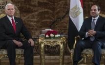 Vidéo - Le Vice-président américain Mike Pence a démarré sa tournée au Moyen Orient en Egypte