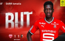 Ligue 1 française : Regardez le but d'Ismaila Sarr contre Dijon