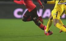 URGENT - Rennes vs Psg : Ismaila Sarr subit un tacle assassin de Mbappé et sort sur civière
