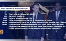 Vidéo - L'audience en tête-à-tête du président Macky Sall avec le président Emmanuel Macron