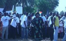 Marche à Niahar : les populations réclament de l'eau
