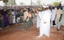 Le Président Macky Sall est arrivé à Médina Gounass