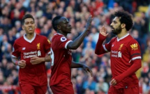 Liverpool : Salah, de record en record