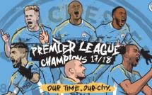 Manchester City officiellement champion d'Angleterre