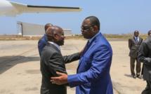 Visite-éclair du président Vaz de la Guinée-Bissau au Sénégal