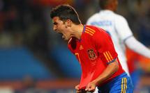 (Vidéo) Foot-CM-Groupe H: Espagne vs Honduras: Villa remet l'Espagne dans le droit chemin