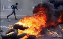 Matam : des jeunes brûlent des pneus vandalisent des installations de la Senelec