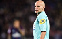 Désigné meilleur arbitre de Ligue 1, Tony Chapron privé de trophée