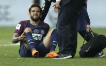 Dani Alves forfait pour le Mondial