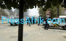 UCAD : les policiers réussissent à repousser les étudiants à l'intérieur du campus