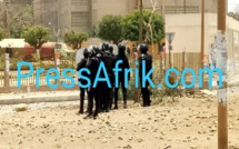 VIDEO - Regardez la violence des affrontements à l'Ucad ce mercredi