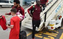 Sadio Mané et Liverpool sont arrivés à Kiev...Regardez les images