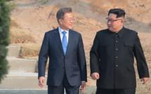 Rencontre surprise entre les Présidents des Corées pour discuter de Trump