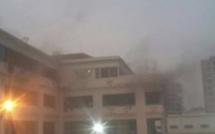 Le Pavillon A de l'UCAD prend feu